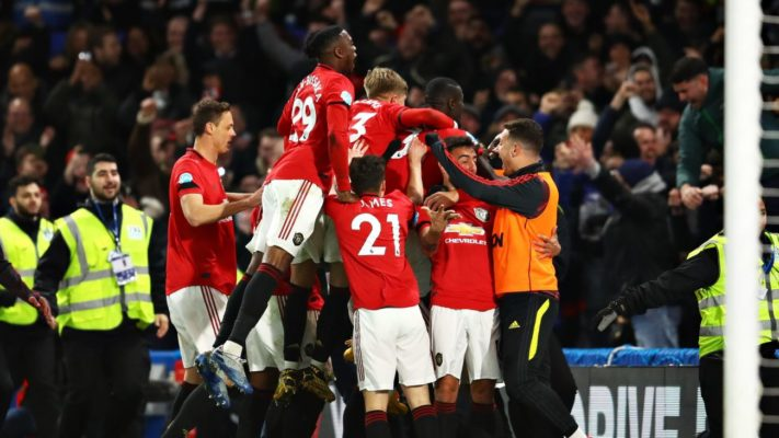 Premier League : Manchester United s'impose à Chelsea