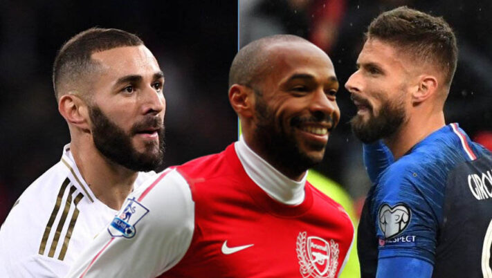Real Madrid : Benzema meilleur que Thierry Henry et Olivier Giroud ?